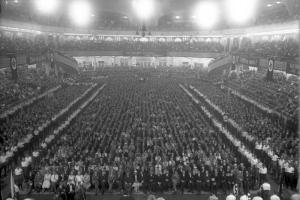 Berlin, Wahlversammlung der NSDAP im Sportpalast
